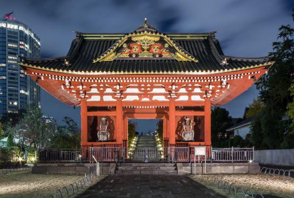 Mausoleo de Tokugawa Shōguns en el templo Zōjō-ji