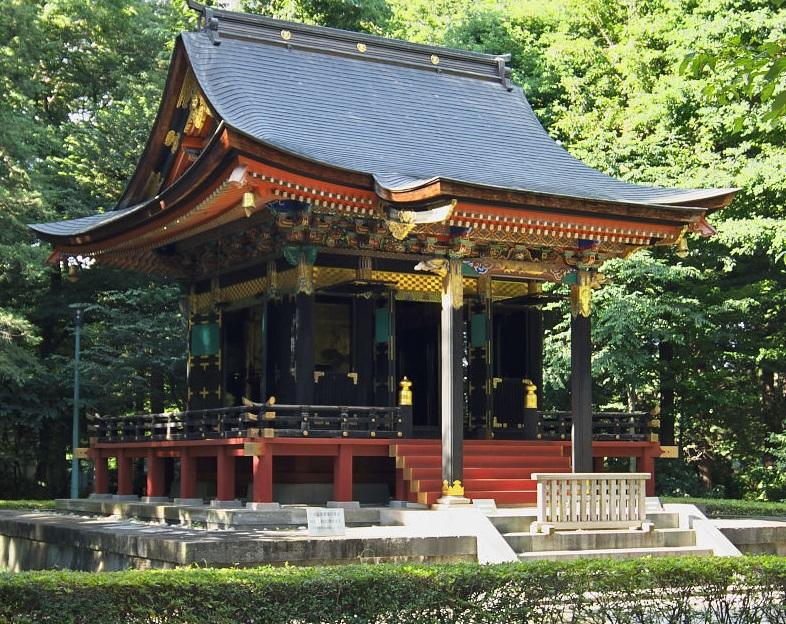 Antiguo mausoleo de Jishōin