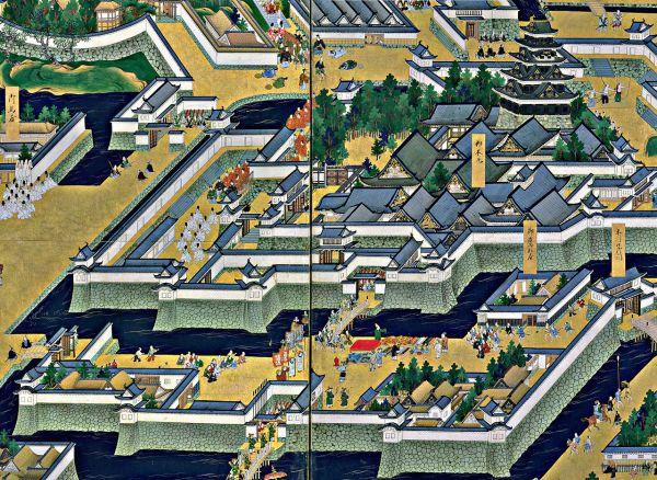 Arquitectura de Tokio cuando era Edo