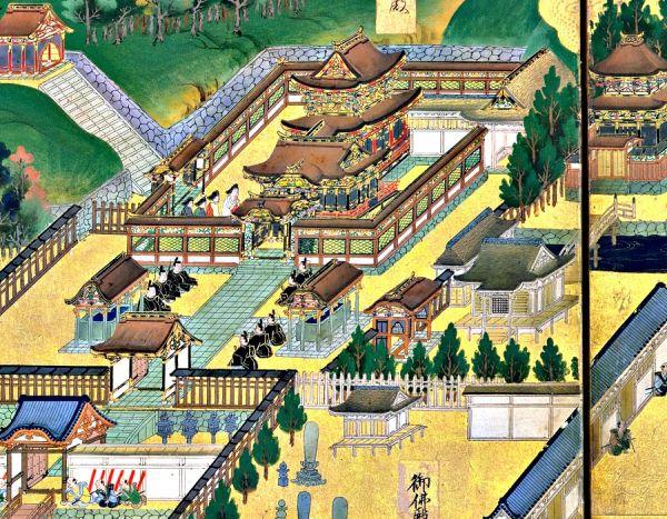 Castillo de Edo en tiempos de Tokugawa Hidetada