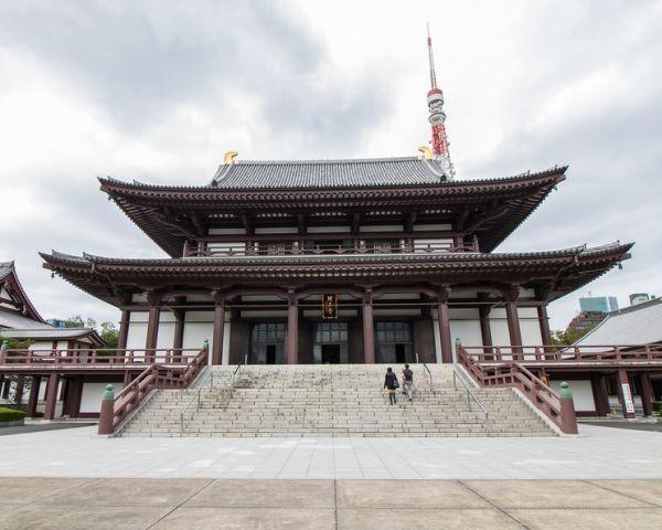 Edificio principal del templo Zōjō-ji
