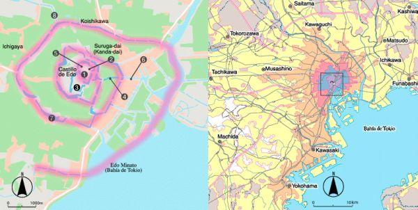 Historia urbanismo en Tokio: el canal espiral