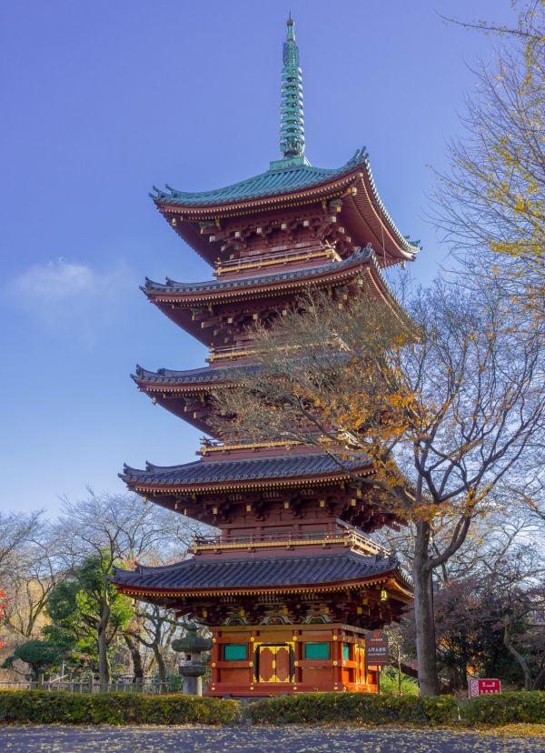 Pagoda del templo Kan'ei-ji
