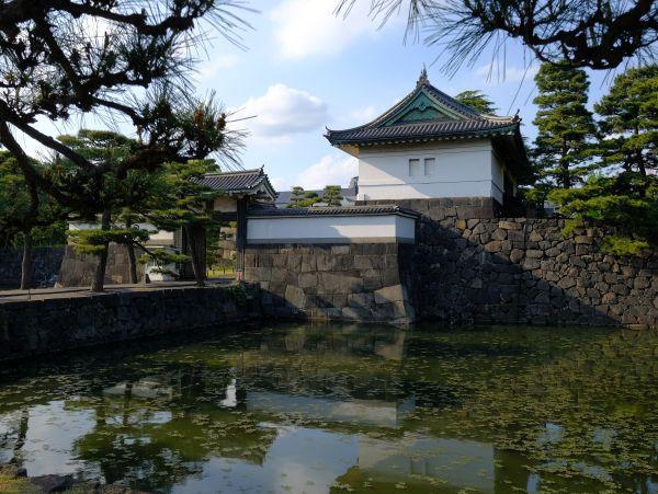 Puerta Sakurada del Palacio Imperial de Tokio