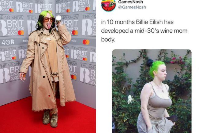 Sexualización de Billie Eilish