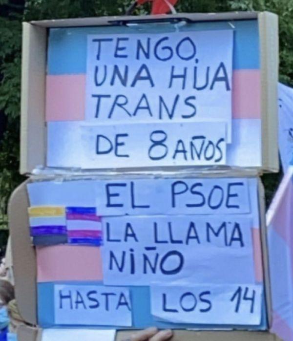 Transfobia en la Ley Trans