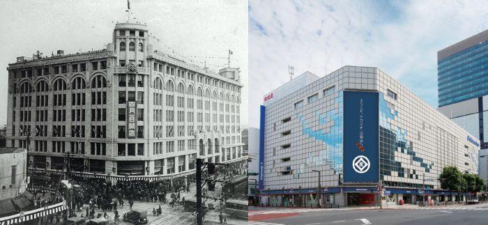 Antes y después de Matsuzakaya Ueno en Tokio