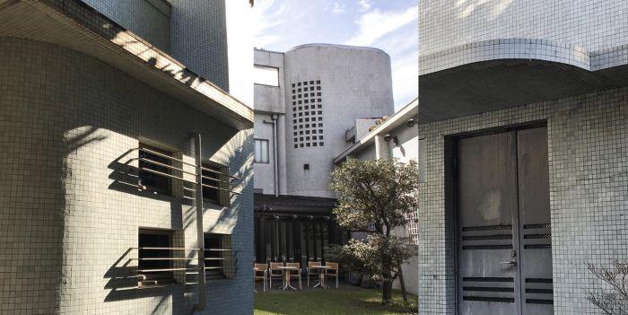 Arquitectura Art Decó en el Museo Hara de Tokio