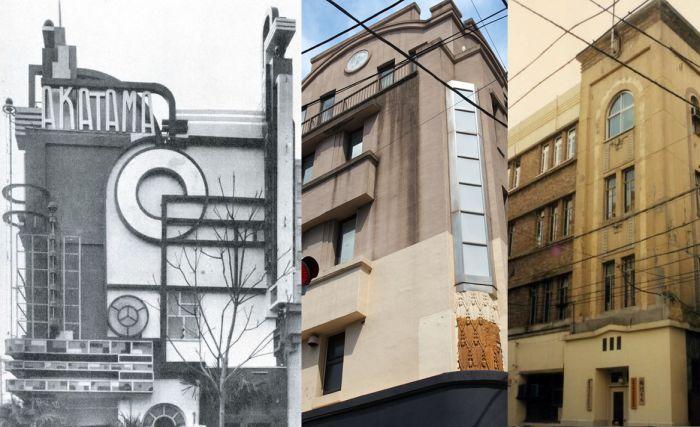 Arquitectura desaparecida del Tokio Art Decó