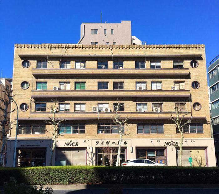 Edificio del Tigre Tokio Art Decó