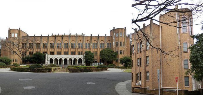 Edificio principal No. 2 de la Facultad de Medicina
