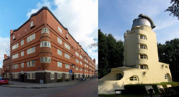 Ejemplos de arquitectura expresionista