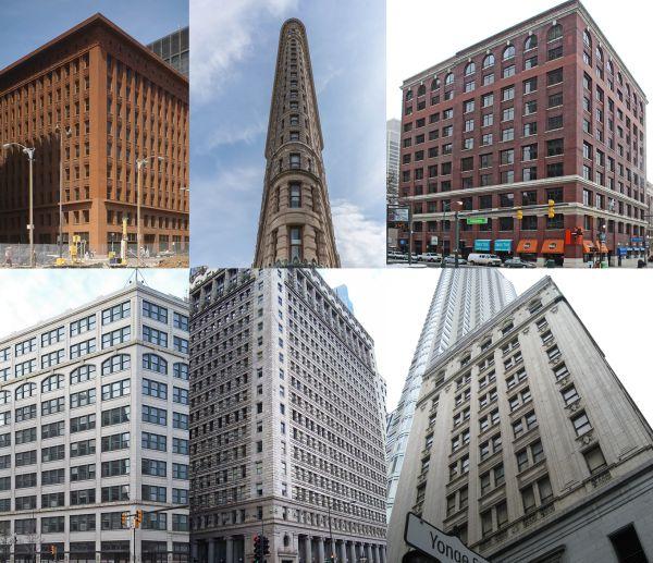 Ejemplos edificios Escuela de Chicago