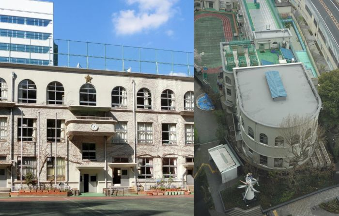 Escuela Primaria Taimei Tokio Art Decó