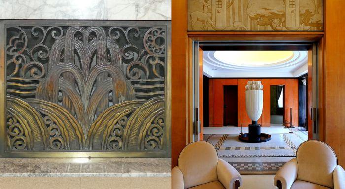 Fuentes en la arquitectura Art Decó