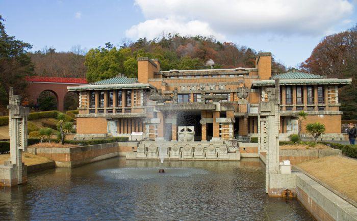 Hotel Imperial Tokio Art Decó precolombino
