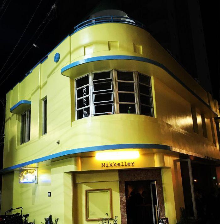 Inspiración Miami Beach en el Tokio Art Decó