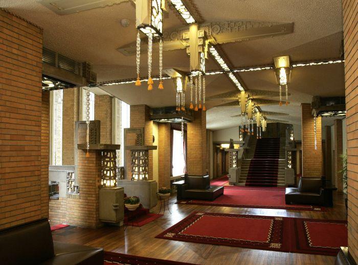 Interior expresionista-Art Decó de la Oficina del Primer Ministro