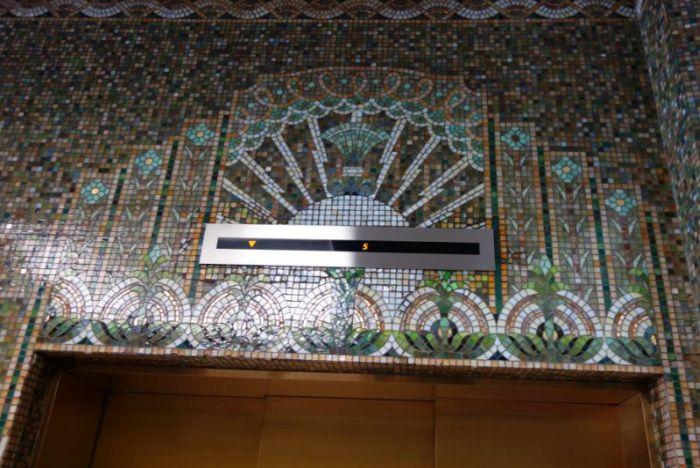 Mosaico Art Decó