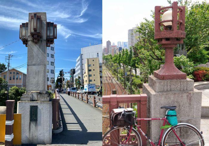 Pilares del puente Chitose, 8 en total