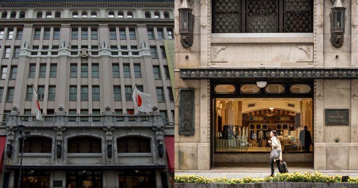 Tienda Takashimaya Nihonbashi Tokio Art Decó