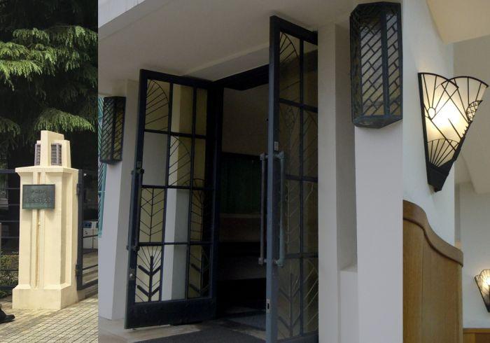 Detalles Art Decó en el edificio anterior
