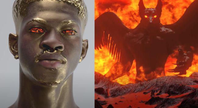 Demonio e infierno en Montero de Lil Nas X